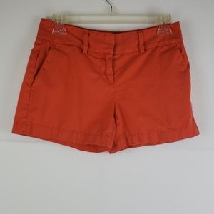 Ann Taylor Loft Orange Shorts Size 00